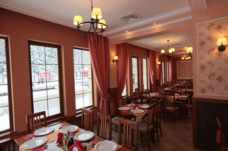 Restaurant Pensiunea Drumetul - interior
